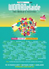 womadelaide 2017 full program graphic